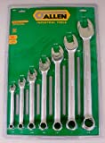Allen Industrial Tools 14 Piece SAE 12-Point Combination Wrench Set (3/8, 7/16, 1/2, 9/16, 5/8, 11/16, 3/4, 13/16, 7/8, 15/16, 1, 1 1/16, 1 1/8, and 1 1/4) image