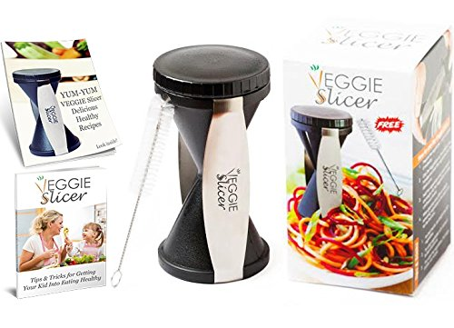Veggie Spiral Slicer, Spiralizer, Vegetable Cutter, Zucchini Pasta, Noodles and Spaghetti Maker
