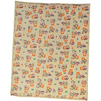 Aarushi Medium Baby Orange Spongy Plastic Chaining Mat(ARSH_58)(color May Vary)