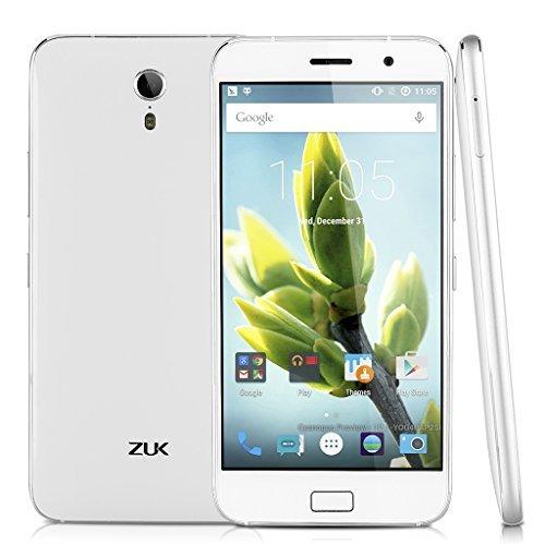 Lenovo ZUK Z1 Smartphone libre 64GB MOBILE 4 g Lte (écran 5,5 pouces appareil photo 13 Mpx Android 5,1 Quad Core 2,5GHz. 3GB RAM d'empreintes digitales Lecteur USB 3.0)