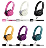 Zumreed ZUM-80380 Metro Smart Stylish and Colorful Over The Ear Headphones Black