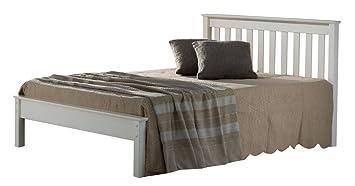 Birlea Denver 4ft6 Double Bed, Ivory