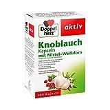 Doppelherz Knoblauch-Kapseln mit Mistel, und Weißdorn, 480...