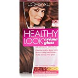3 Pk, L'Oreal Paris Healthy Look Creme Gloss, Chestnut Brown / Spiced Truffle #5CB