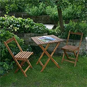 folding garden furniture bistro set garden outdoors