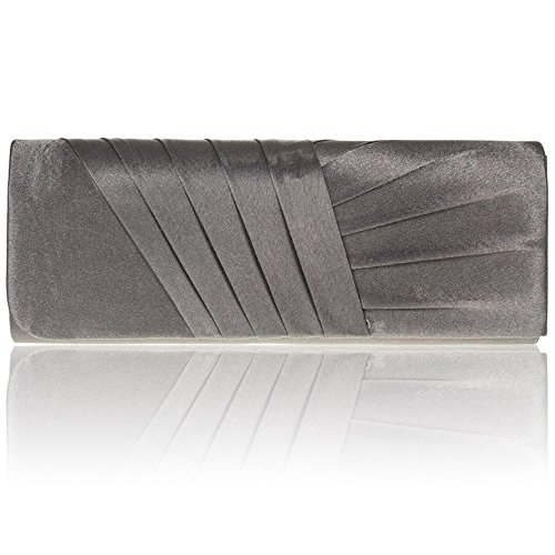 Zarla Women Evening Bags New Pleated Party Bridal