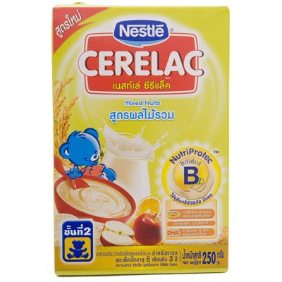 Nestle Cerelac Baby Food Mixed Fruits 250G front-1038457