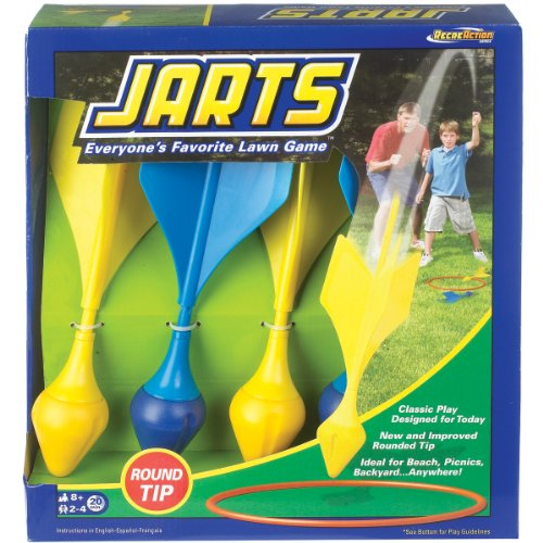 Lowest Prices! Ideal Jarts Dart Target Lawn Game