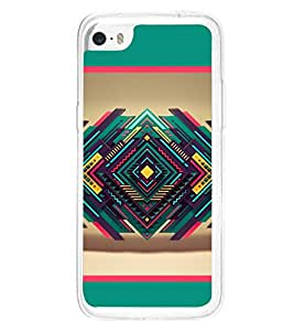 Contemporary Design 2D Hard Polycarbonate Designer Back Case Cover for Apple iPhone 5C