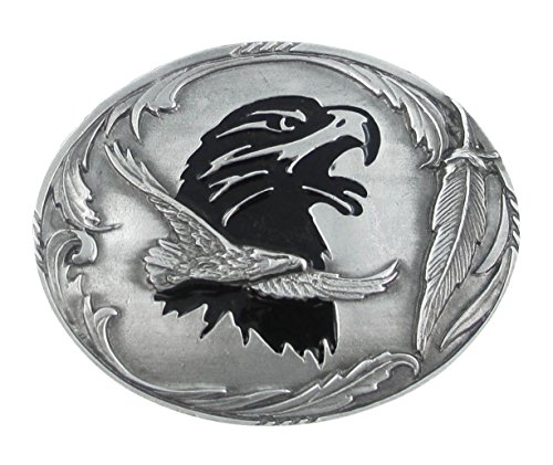 Eagle - Pewter Belt Buckle
