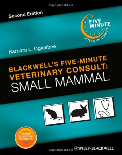 Blackwell'S Five-Minute Veterinary Consult: Small Mammal front-1053542