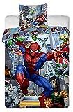 Marvel Ultimate Spiderman Single Duvet Cover Set