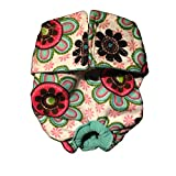 Barkerwear Dog Diaper - Passion Flower Washable Cover-up / Diaper, L for Incontinence, Housetraining and Dogs in Heat