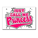 Postcards (8 Pack) Just Call Me Princess with Crown