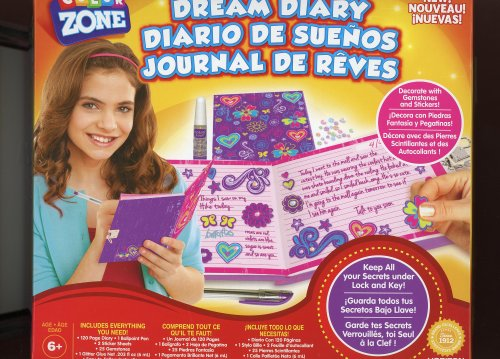 Dream Diary Journal Color Zone Children 6+ - 1