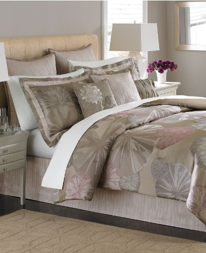 Martha Stewart Echo Pond 9 Piece Cal King Comforter Bed in a...