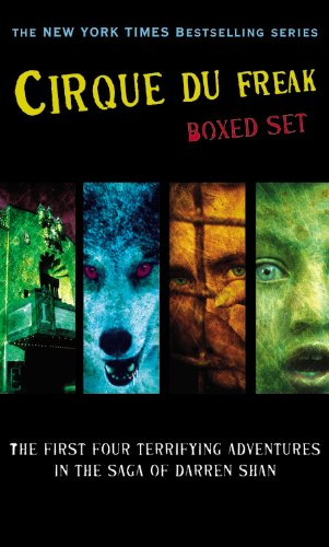Cover of Cirque du Freak Boxed Set 1: A Living Nightmare / The Vampire's Assistant / Tunnels of Blood / Vampire