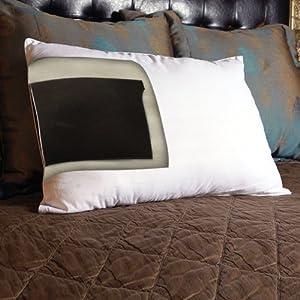 Hide vibrator pillow