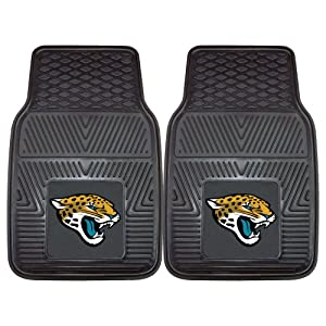 FANMATS NFL Jacksonville Jaguars Vinyl Heavy Duty Vinyl Car Mat by Fanmats