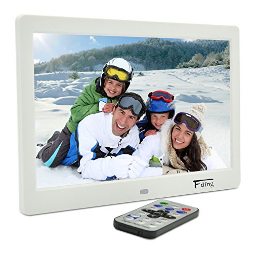 10.1 Inch Hi-Res TFT LED Digital Photo Frame & HD Video(1080P/720p)&Music Playback with Remote Control&Calendar/Clock Support 32GB SD Card (Photo Digital Album compare prices)