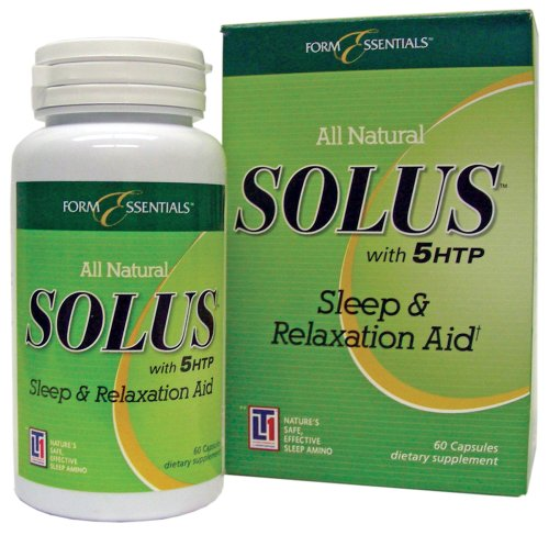 Form Essentials All Natural Solus Sleep & Relaxation Aid, 60 capsules Bottle