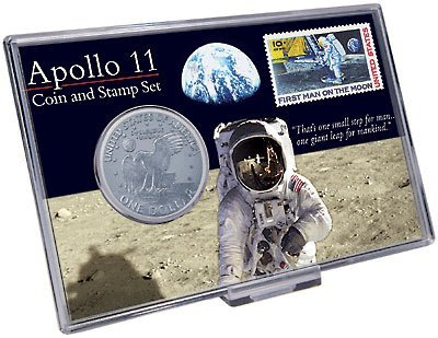 Apollo 11 Coin & Stamp Set