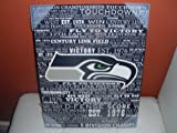 NFL Seattle Seahawks Decorative Wooden Typography Wall Plaque Sign (18 X 14 X 2) at Amazon.com