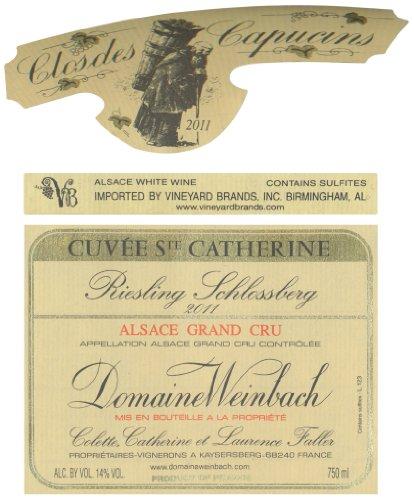 2011 Domaine Weinbach Riesling Grand Cru Schlossberg Cuvée Ste. Catherine Alsace 750 Ml