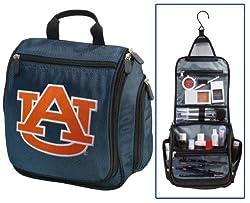Auburn Cosmetic Bag or NCAA Mens Shaving Kit - Travel Bag Auburn Tigers Makeup