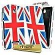 Accessory Master Etui en cuir pour Huawei Ascend Y300 Motif Drapeau du Royaume-Uni Mill�sime
