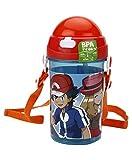 Pokemon Plastic Water Bottle, 500ml, Multicolour