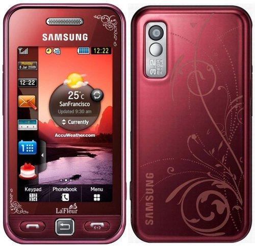 Samsung - S5230 Player One - Téléphone portable - Quadri-bande - Bluetooth - La Fleur