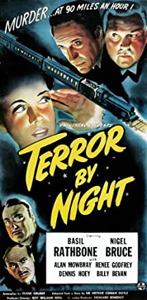 Sherlock Holmes: Terror by Night Video Case