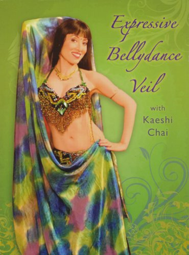 Expressive Bellydance Veil with Kaeshi [DVD]