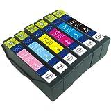 EPSON(エプソン) 純正互換インクカートリッジ IC6CL70 6色セット 残量表示機能付 【増量タイプ】