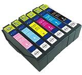 エプソン IC70L (IC6CL70L) 互換インク 増量タイプ 6色セット IC70