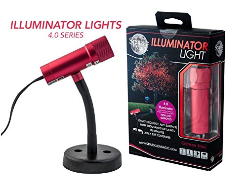 Sparkle Magic Crimson Stars (Red) Illuminator Laser Light 4.0 Series