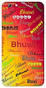 Bhuwi (Heaven) Name & Sign Printed All over customize & Personalized!! Protective back cover for your Smart Phone : Moto X-Play