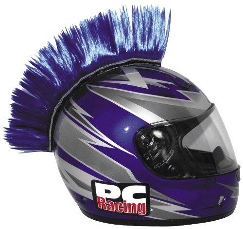 PC Racing Helmet Mohawk , Color: Blue PCHMBLUE