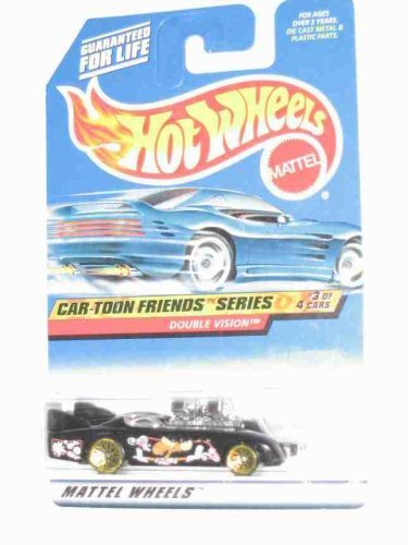 Cartoon Friends Series #3 Double Vision Collectible Collector Car Mattel Hot Wheels 1:64 Scale