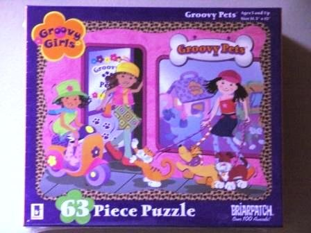 "Groovy Girls ""Groovy Pets"" 63 Piece Puzzle"