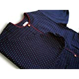 Hail pattern Kappogi (coverall apron) made in Kurume Japan *Import*Japanese clothes size ladies'