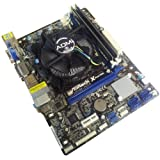 Intel Dual Core G540 2.5GHz - Asrock H61M-VS Motherboard - 8GB DDR3 1333mhz Memory Bundle