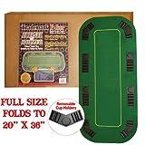 Trademark Texas Holdem Folding Poker テーブル Top-【並行輸入品】
