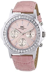 MC Timetrend Damen-Armbanduhr Bella Chrono Chronograph Quarz Leder 26739