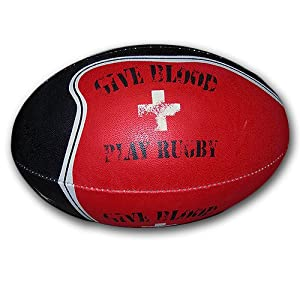 Buy Give Blood Rugby Ball by Gilbert