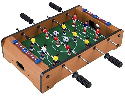 Wooden Classic Mini Table Top Foosball (Soccer) Game Set – 20 by Homeware günstig kaufen