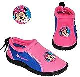 "Aquaschuhe - ANTI Rutsch Sohle - Gr. 24 bis 35 - "" Disney Minnie Mouse ""- rutschfeste & verstellbare NEOPREN Schuhe Schuh"