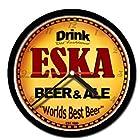 ESKA beer and ale cerveza wall clock