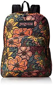 JanSport Black Label Superbreak Backpack - Multi Oriental Bloom - Mens - O/S